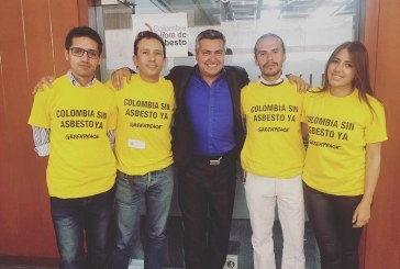 #EnAudio Histórico: comisión 7 aprobó primer debate para lograr #ColombiaSinAsbesto