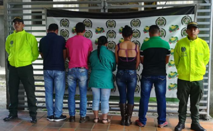 """Caen 5 integrantes de la banda delincuencial """"Los Criollitos"""" dedicado al abigeato en Casanare."""