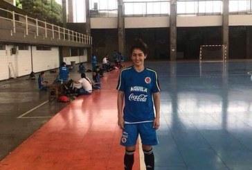 #EnAudio Liseth Camacho, casanareña convocada a la selección Colombia de Futsal