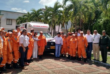 Ecopetrol y Alcaldía de Aguazul entregan ambulancia a la Defensa Civil de Aguazul