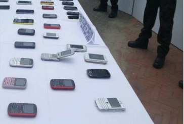 """Desarticulada banda """"oasis"""", dedicada al hurto y manipulación de celulares"""