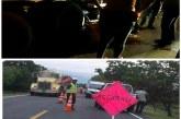 Dos personas muertas en accidentes entre motociclistas y tractomulas en la vía Tauramena – Monterrey.