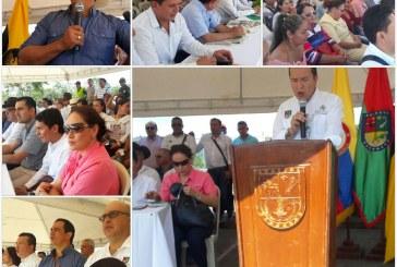 Firma tripartita entre la Gobernación de Casanare, Municipio de Aguazul y la Universidad Pedagógica y Tecnológica de Colombia, UPTC.  para dar inicio a la construcción de la  sede universitaria