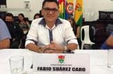#EnAudio Concejal Fabio Suárez habla sobre la situación de los docentes del municipio.