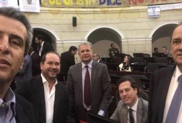#EnAudio Senador Luis Fernando Velasco habla sobre el avance de los acuerdos de paz y la reforma política.