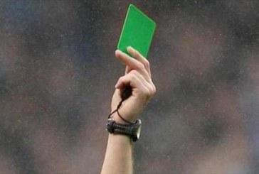 """#EnAudio Árbitros promueven la utilización de la """"Tarjeta Verde"""" para incentivar el #FairPlay en el Fútbol Profesional Colombiano."""