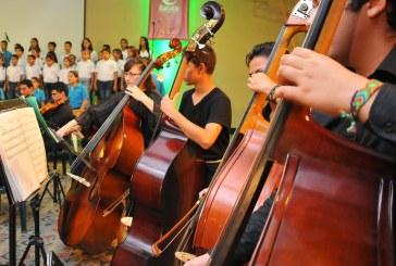 Más de 2 mil niños y jóvenes colombianos se formarán en iniciación musical, coral y sinfónica