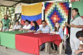 Comunidad indígena Nasa Kiwe Fxin y alcaldía buscan cumplir compromisos
