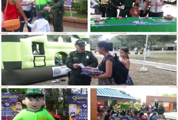 No al uso de pólvora, recomendaciones de Policía de infancia y adolescencia de Casanare.