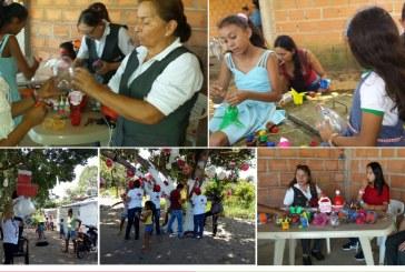 Damas Grises encienden luces de navidad y esperanza   en comunidades vulnerables