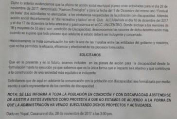 Red y comités locales de discapacidad denuncian pésima planeación de  política pública de discapacidad en Casanare y Yopal