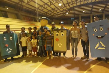 Con charlas educativas, Policía Ambiental visitó el Barrio Llano Lindo.
