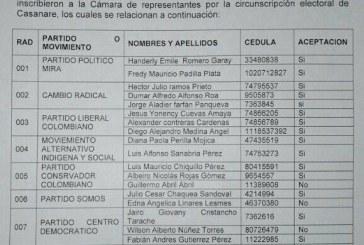 Rostros nuevos aspiran a Cámara de Representantes por Casanare