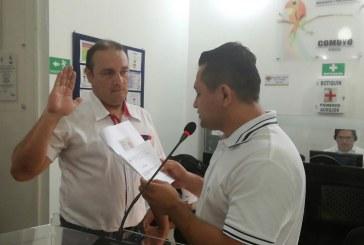 Ayer asumió su curul el nuevo concejal de Yopal, Alexander García.