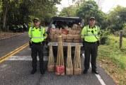 De Guateque traían para Yopal cargamento de pólvora avaluada en más de $11 millones