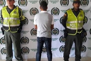 Policía capturó a presunto ex integrante del bloque Meta