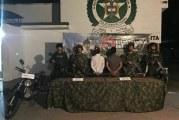 En Arauquita, la Policía y el Ejército incautaron armas y capturaron a dos personas