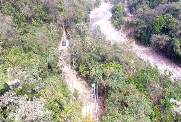 Ya casi está listo el paso elevado del acueducto de Aguazul.