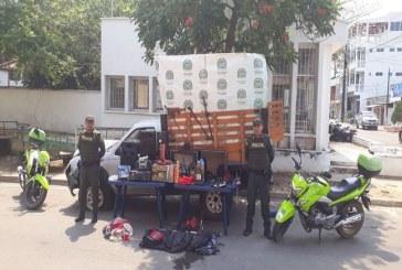 Policía recuperó en Trinidad vehículo y elementos robados en zona rural de Pore.