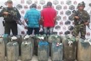 En Hato Corozal, Ejército incautó combustible de procedencia extranjera.