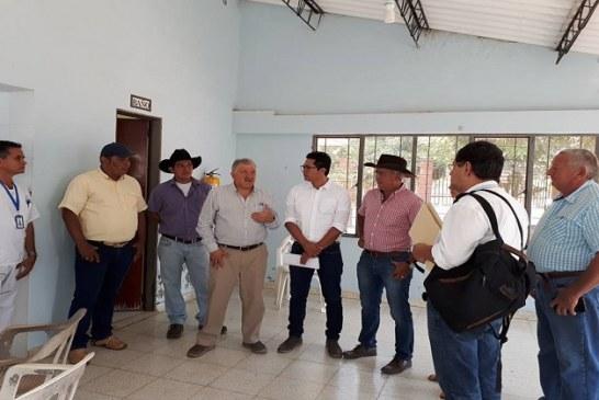 Asesor del minsalud revisó avances de infraestructura del hospital de Maní.