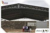 Preparan escenarios deportivos para los Juegos Supérate Intercolegiados en Paz de Ariporo.