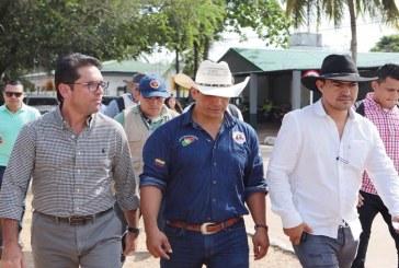 Minagricultura de visita en Casanare.