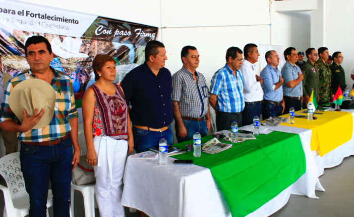 Balance de seguridad muestra que Casanare ha sido más seguro en lo que va del año 2018