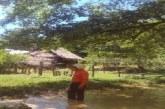 Defensa Civil Atiende el caso de un niño extraviado en el corregimiento de Las Guamas de Paz de Ariporo.