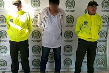 Capturado hombre en Aguazul por el delito de violencia intrafamiliar