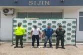 Capturados con gran prontuario delincuencial en Yopal.