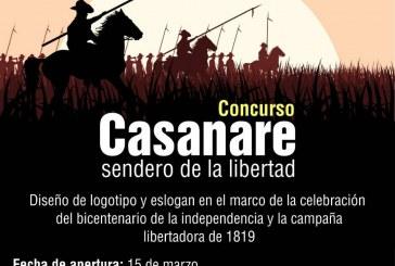 """Concurso departamental de diseño del logotipo y eslogan """"Casanare sendero de la libertad"""""""