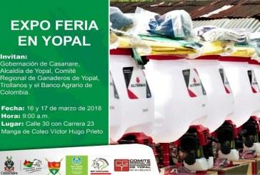 En Yopal arrancan este viernes las Expoferias del Banco Agrario.