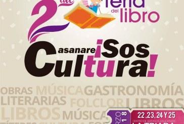 #EnAudio De jueves a domingo de la próxima semana se realiza Segunda Versión de la Feria del Libro