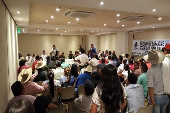 Comunidades del bloque Cubiro en San Luis de Palenque levantaron paro que mantenían contra la operadora Frontera Energy.