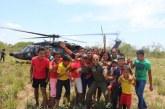 El Grupo Aéreo de Casanare lleva labor social a Caño Mochuelo.