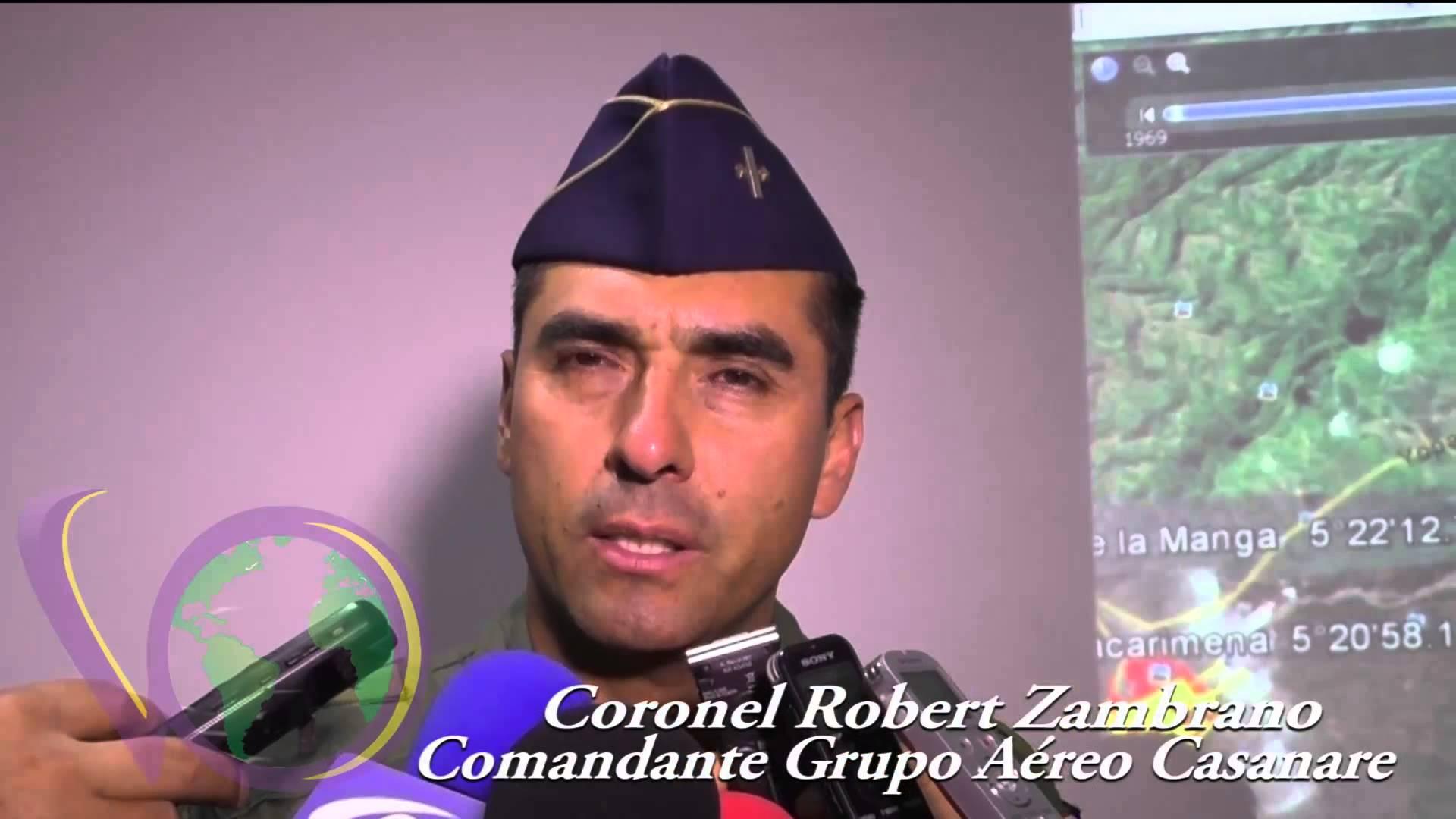 Estas son las labores de rescate del grupo aéreo Casanare