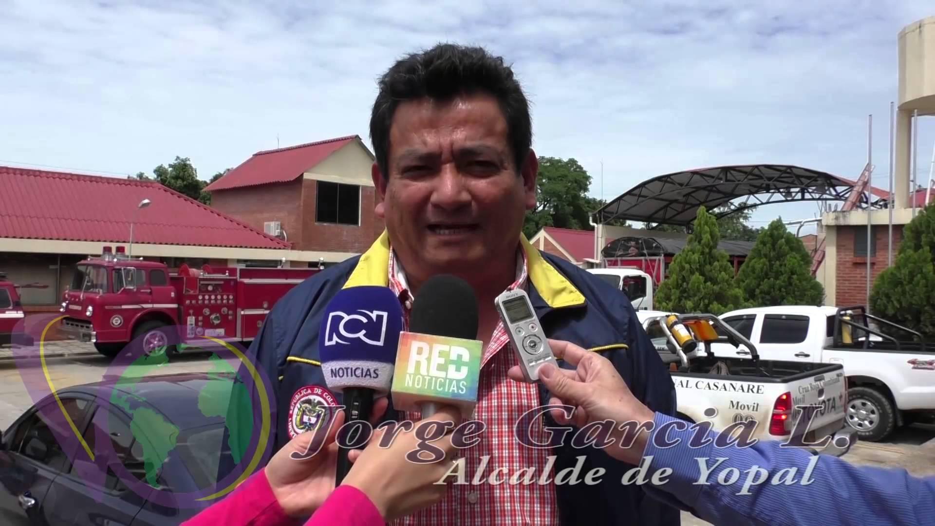 Alcalde informa sobre avances en la atención a la emergencia