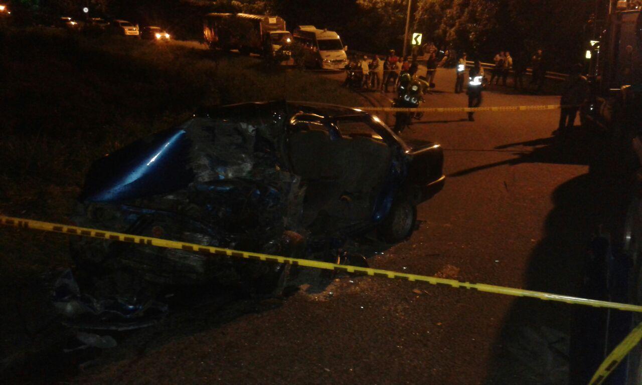Nuevo accidente en Monterrey.