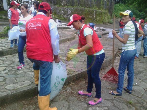 Cumpliendo Acción Popular, Alcaldía adelantó jornada de aseo en La Iguana