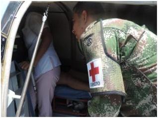 Médico del Ejército Nacional ayuda a salvar vida de recién nacidos en Vichada