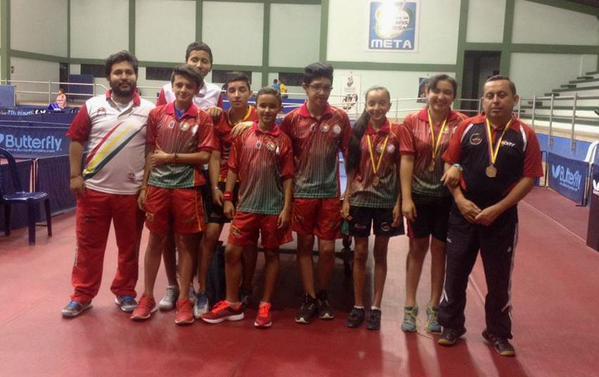 Tenis de mesa de Casanare con buenos resultados en campeonato nacional de Villavo