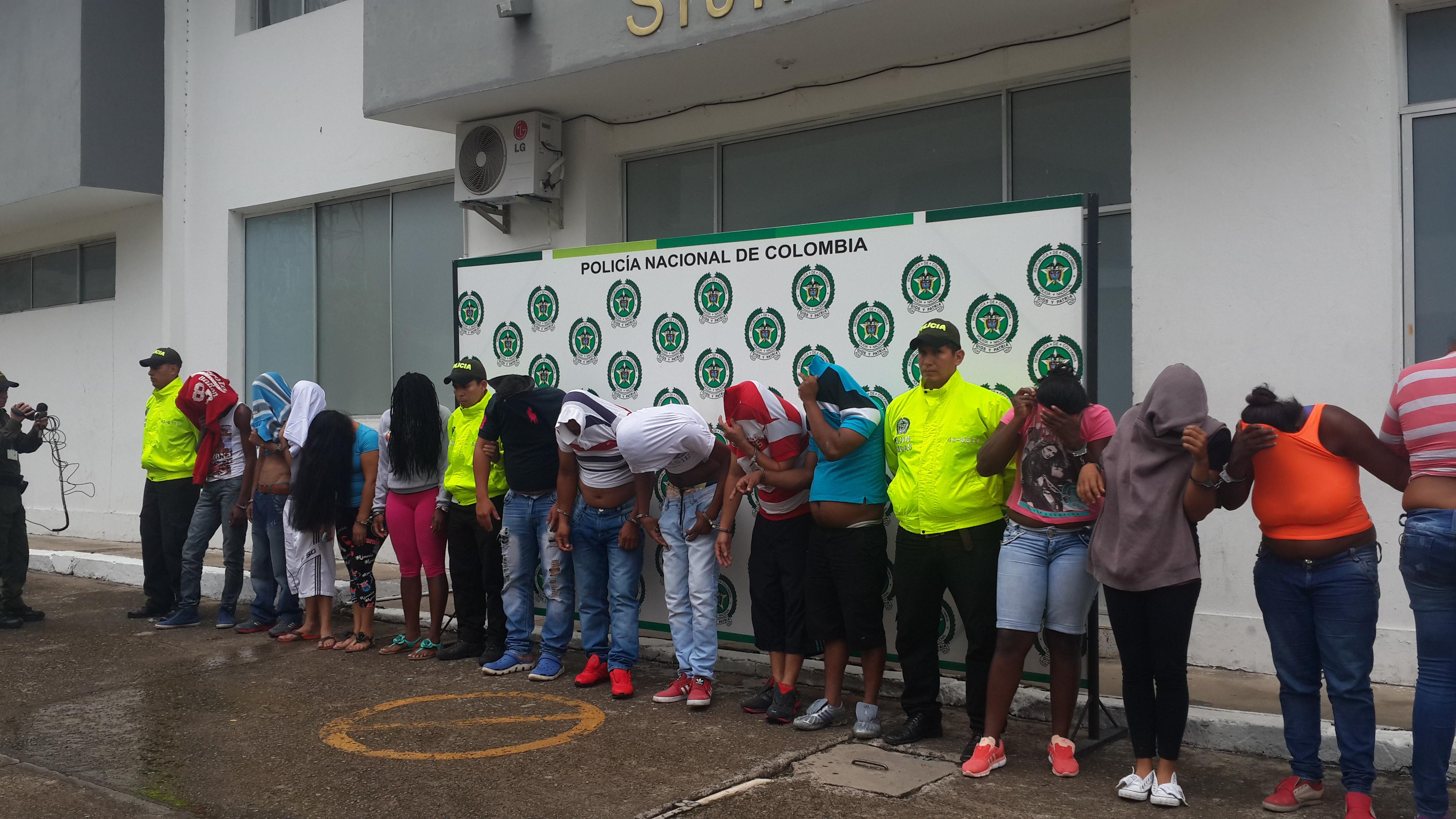 """Cayó banda distribuidora de drogas en Yopal al mando de alias """"boogie"""""""