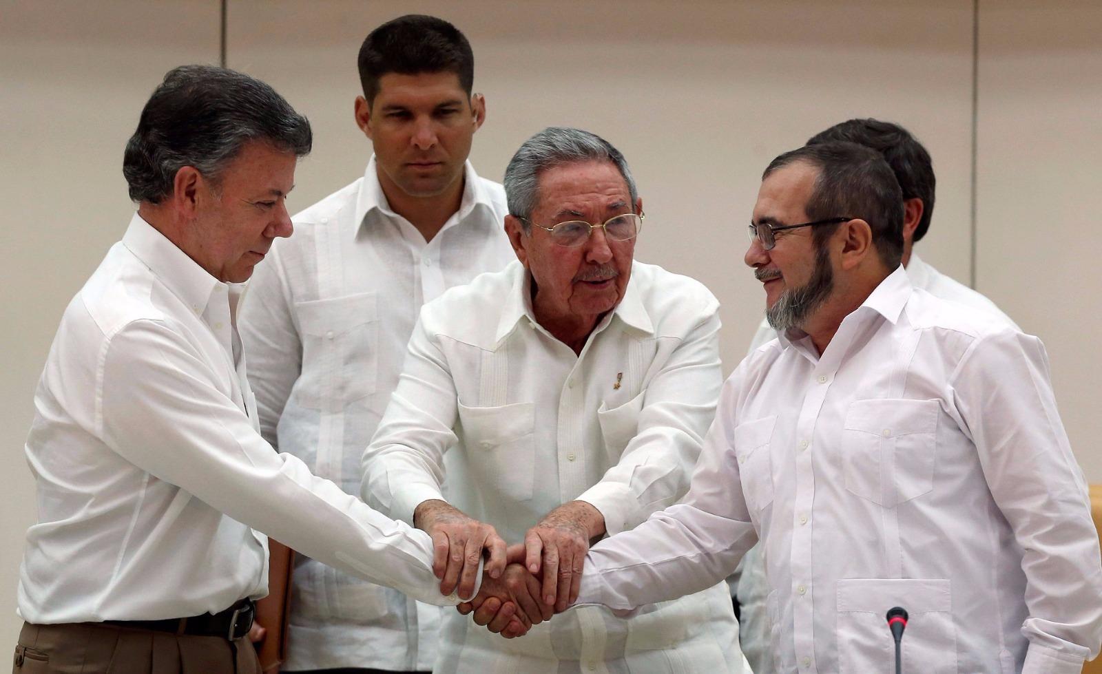 Gobierno Nacional y las FARC acuerdan Justicia transicional, restaurativa y reparadora, la cual fue anunciada ayer.