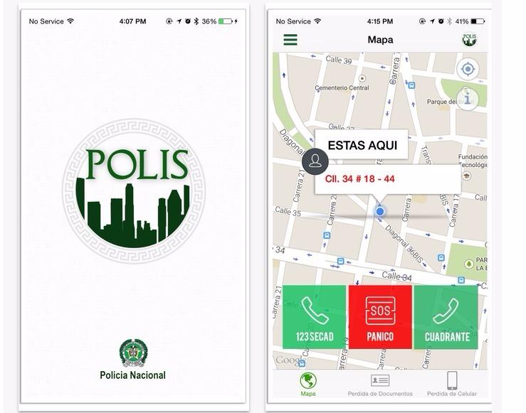 Por internet, desde celular, se puede alertar a la policía y denunciar pérdida de documentos