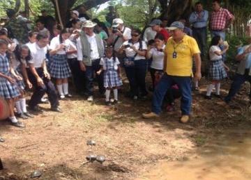 Fueron 1.325 tortugas chapara las devueltas a su hábitat natural