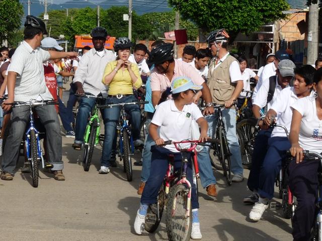 """En Yopal no circulan hoy carros y motos. Es el """"Día por la Movilidad Limpia"""""""