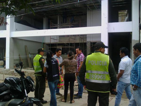 Alcaldía inicio sellamientos de obras sin licencias de construcción