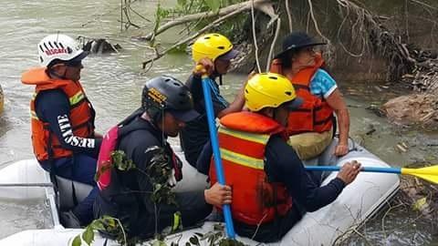 Rescatada anciana en Sabanalarga.