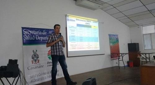 Casanare arrancó el mes de febrero con 144 casos sospechosos de zika